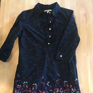 Old Navy - Collard Three Quarter Sleeve Dress